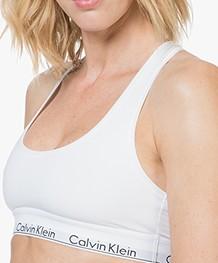 Calvin Klein Modern Cotton Bralette - White