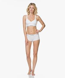 Calvin Klein Modern Cotton Padded Bralette - Wit