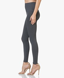 SPANX® Look At Me Now Seamless Leggings - Heather Charcoal