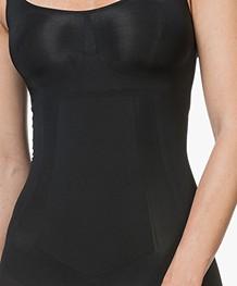 SPANX® OnCore Mid-Thigh Bodysuit - Black