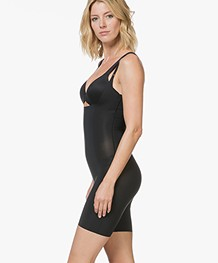 SPANX® Thinstincts Open-Bust Bodysuit - Black