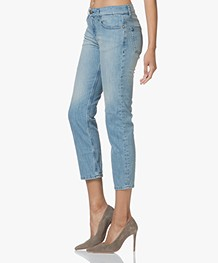 Ba&sh Romy Cropped Jeans - Light Used