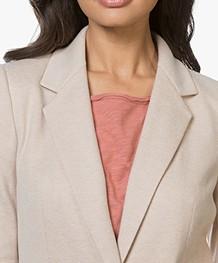 Drykorn Golders Brushed Jersey Blazer - Beige
