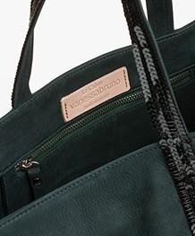 Vanessa Bruno Cabas Moyen Leather Shopper - Scarabee