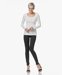 HUGO Georgina Super Skinny Jeans - Donkerblauw