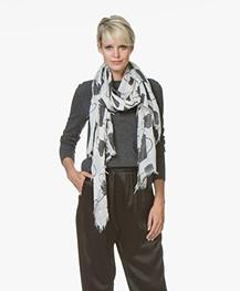 Belluna Plus Modal Sjaal met Print - Corda