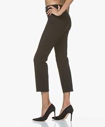 Filippa K Stella Cropped Coloured Denim Jeans - Zwart