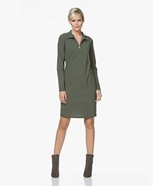 Josephine & Co Rudie Jersey Zip Dress - Army