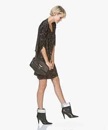 MKT Studio Ria Print Dress - Carbone