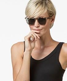 IZIPIZI SUN #E Sunglasses - Light Tortoise/Grey Lenses
