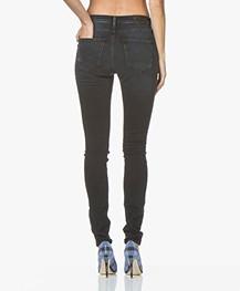 Denham Needle High Skinny Jeans - Zwart