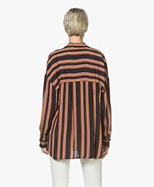 La Petite Française Chanceuse Striped Blouse - Rayure