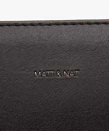 Matt & Nat Cara Vintage Schoudertas - Zwart