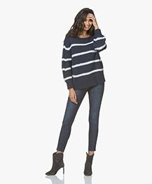 Rag & Bone Ankle Skinny Jeans - Tonal River