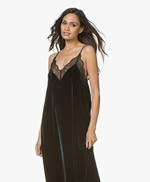 Dress Zadig Velours In Ink amp; Long Risty Voltaire nW81UaWT