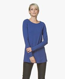 Kyra & Ko Rana Lang Jersey Longsleeve T-shirt - Kobalt