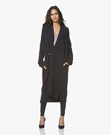 Woman By Earn Whitney Basic Jersey Legging - Navy