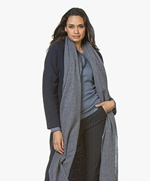 Closed Extra Lange Sjaal met Cashmere - Malibu