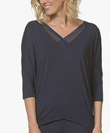 Calvin Klein T-shirt in Modal Jersey - Shoreline