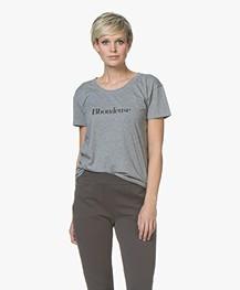 Vanessa Bruno Bboudeuse T-Shirt - Grijs Mêlee