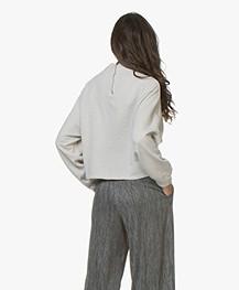 Friday's Project Katoenen Raglan Sweater - Stone