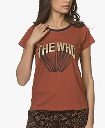 MKT Studio Terci Who Print T-shirt - Rust