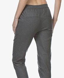BOSS Sasizy Wolmix Pantalon - Charcoal