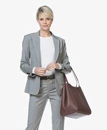 Filippa K Sasha Cool Wool Blazer - Light Grey