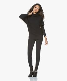 JapanTKY Haya Slim-fit Jersey Legging - Zwartblauw