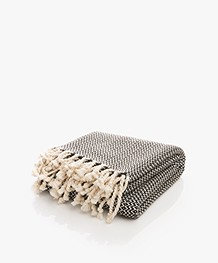 Bon Bini Hammam Towel Sabadeco 180cm x 90cm - Black
