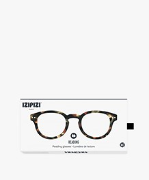 IZIPIZI READING #C Leesbril - Bruin Tortoise