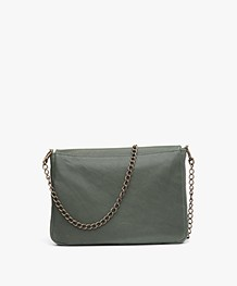 BY-BAR Run Leather Shoulder Bag - Green