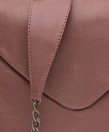 BY-BAR Run Leather Shoulder Bag - Plum