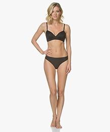 Calvin Klein Form Lightly Lined Demi BH - Zwart