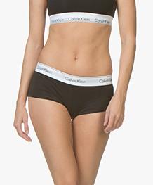 Calvin Klein Modern Cotton Short - Zwart/Wit