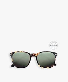 IZIPIZI Sun Nautic Polarized Zonnebril - Tortoise/Groene Glazen