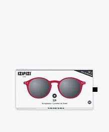 IZIPIZI SUN #D Sunglasses - Red Crystal/Grey Lenses