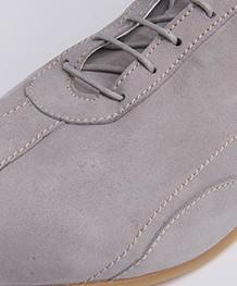 Panara Slim Suede Sneakers - Grigio