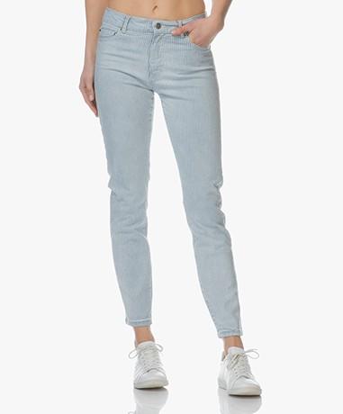 BOSS J21 Roseville Slim-fit Jeans - Light/Pastel Blue