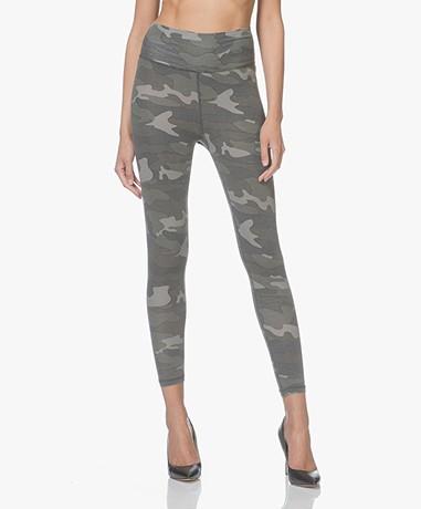 Ragdoll LA Camo Printed Leggings - Army