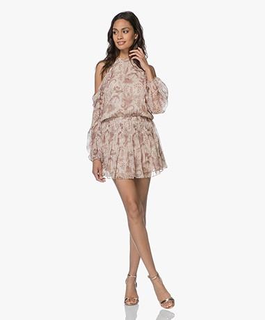 Magali Pascal Opium Silk Dress - Nude Valence