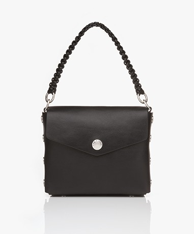 Rag & Bone Atlas Modular Shoulder Bag - Black/Biking