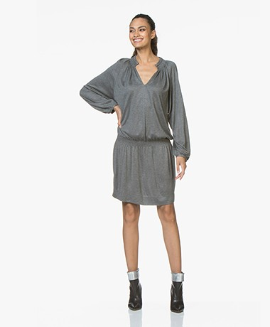 Vanessa Bruno Jovita Jersey Dress - Grey Melange