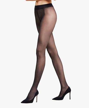 FALKE Seidenglatt 15 Tights - Black