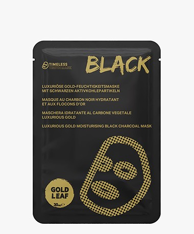 Timeless Truth Mask Black Luxurious Gold Mask