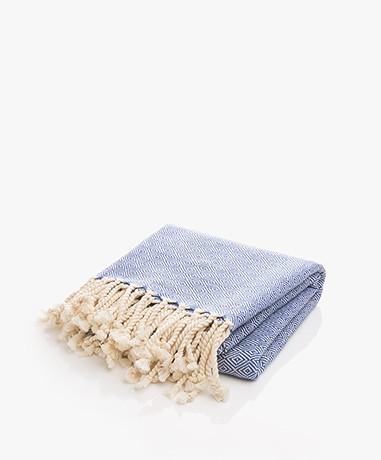 Bon Bini Hammam Towel Nikiboko 180cm x 90cm - Navy