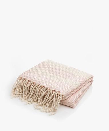 Bon Bini Hammam Towel Sorobon 180cm x 90cm - Pink