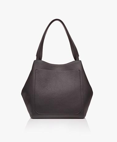 Filippa K Shelby Bucket Leather Bag - Black