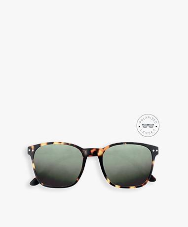IZIPIZI Sun Nautic Polarized Sunglasses - Tortoise/Green Lenses