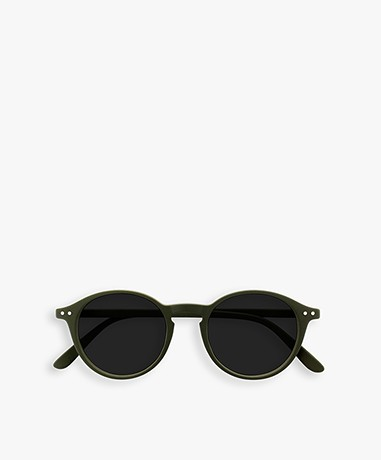 IZIPIZI SUN #D Sunglasses - Khaki Green/Grey Lenses